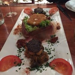 Nul Part Ailleurs - Marseille, France. Salad Provençal. Creative presentation & flavorful