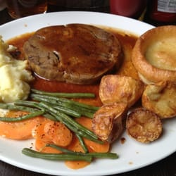 The roast beef special. It was very…