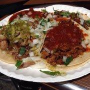 Tacos Mexico - Tacos al pastor, carne asada, and carnitas. - Los Angeles, CA, Vereinigte Staaten