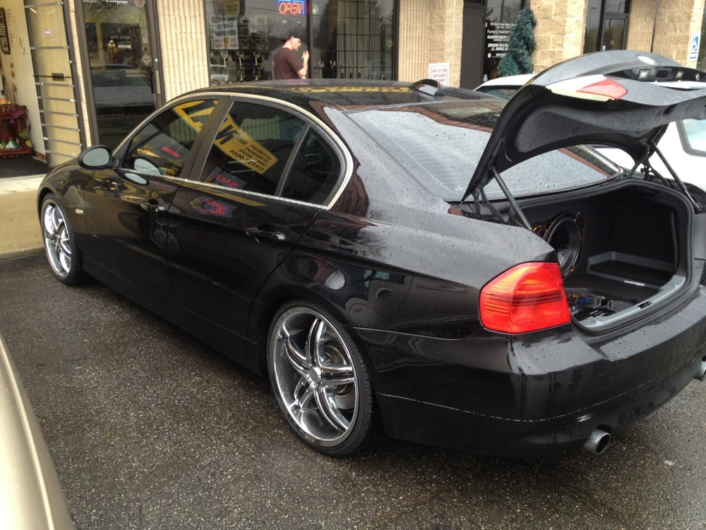 Bmw 328 20 Quot Custom Wheel And Tire Package Done By