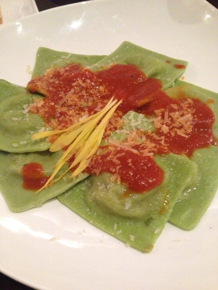 ... ravioli filled with roasted eggplant and smoked mozzarella! | Yelp