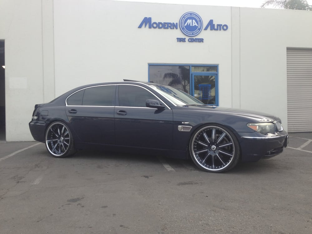 Bmw 7 series on custom painted wheels yelp for South motors bmw collision center