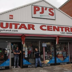 PJ's Guitar Center, Southsea, Portsmouth