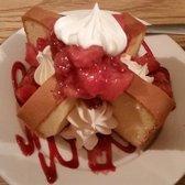 Perky's Restaurant - Strawberry short cake. Yummy - Altavista, VA, United States
