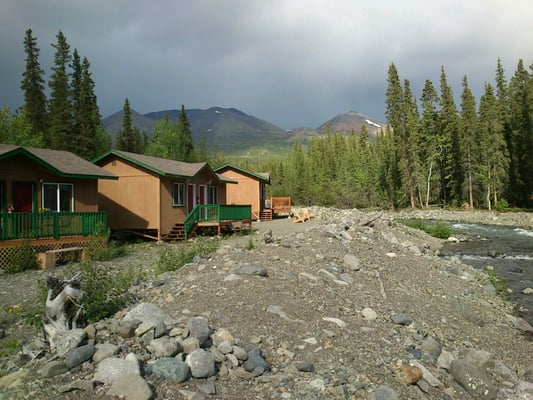 Mckinley creekside cabins hotels denali national park for Denali national park cabins