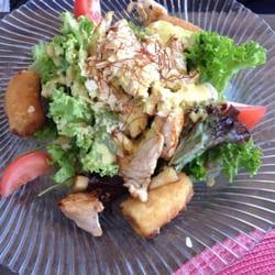 Überraschungs Salat mit panierten…