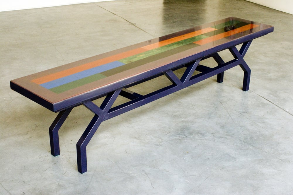 Contemporary Kitchen Table With Bench