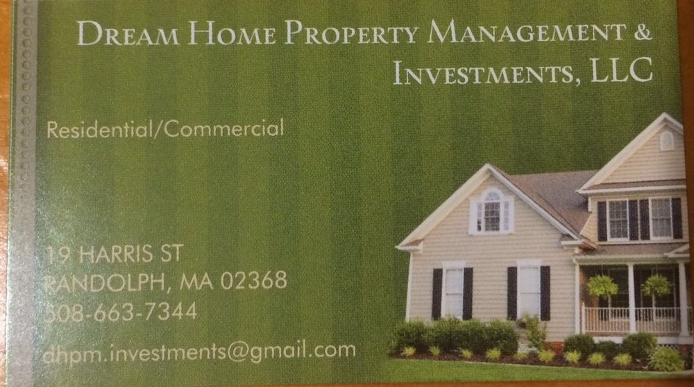 Dream Homes Property Management Investments Llc Real