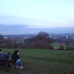 Parliament Hill - view overlooking London