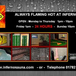 inferno sauna, Stoke-on-Trent