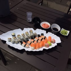 Les excellant sushis et makis
