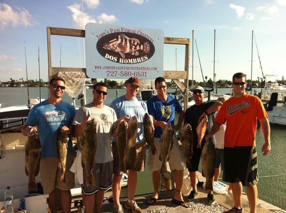 John s pass fishing charters fishing madeira redington for Johns pass fishing