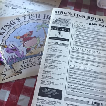 King s fish house 364 photos seafood restaurants for Kings fish house menu