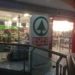der Spar im Einkaufszentrum