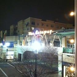 The Gateway - Salt Lake City, UT, United States. Gateway sign at 3 am