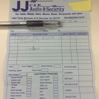 Jj S Car Audio