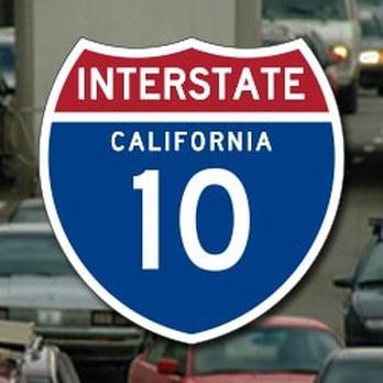 The 10 Freeway - Los Angeles  I 10 Freeway