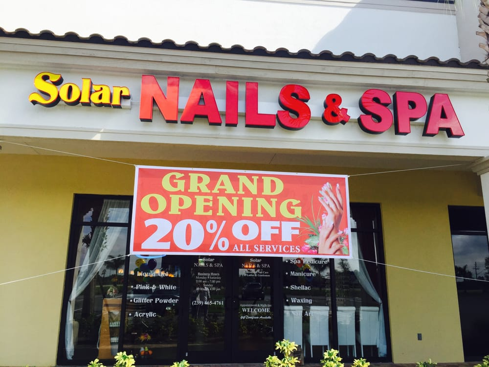 Solar nails spa 24 photos nail salons 8855 for 24 nail salon nyc