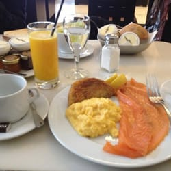 Café Beaubourg - Paris, France. Brunch option 2