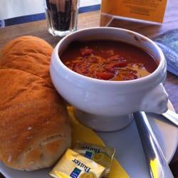 Chorizo zuppa & panini