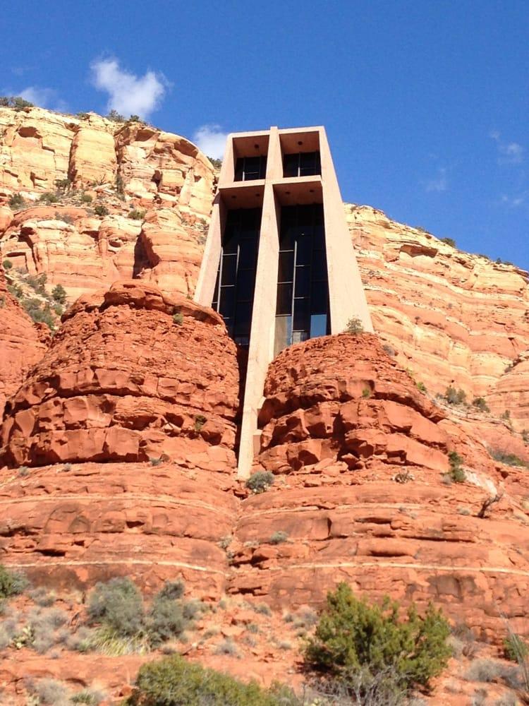 Chapel Of The Holy Cross Sedona Az United States Yelp