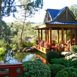 The gardens of the world the japanese pagoda sits serenely in our japanese garden which for Gardens of the world thousand oaks