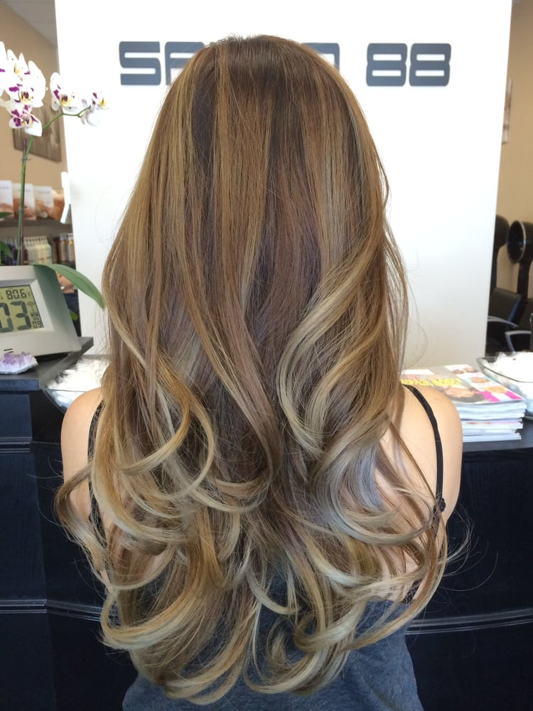 My Recent Ombre Balayage With Ash Blonde But This Picture