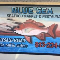 Blue sea fish market and restaurant 37 bilder fisk og for Fish market tampa