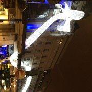 BHV Marais - Paris, France. Deco de Noël 2012 au BHV Rivoli