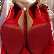 Gus New Quality Shoe Repair - Took my shoes to get the red soles