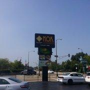 N.o.k. Persian Restaurant Sign of Restaurant NOK