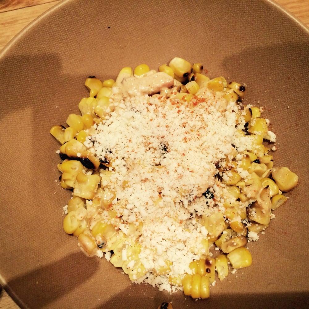 Reston - Reston, VA, United States. grilled corn lime, cayenne, cotija ...