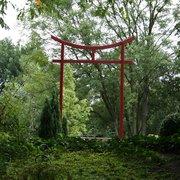 Das Tori im Garten der Wu Wei