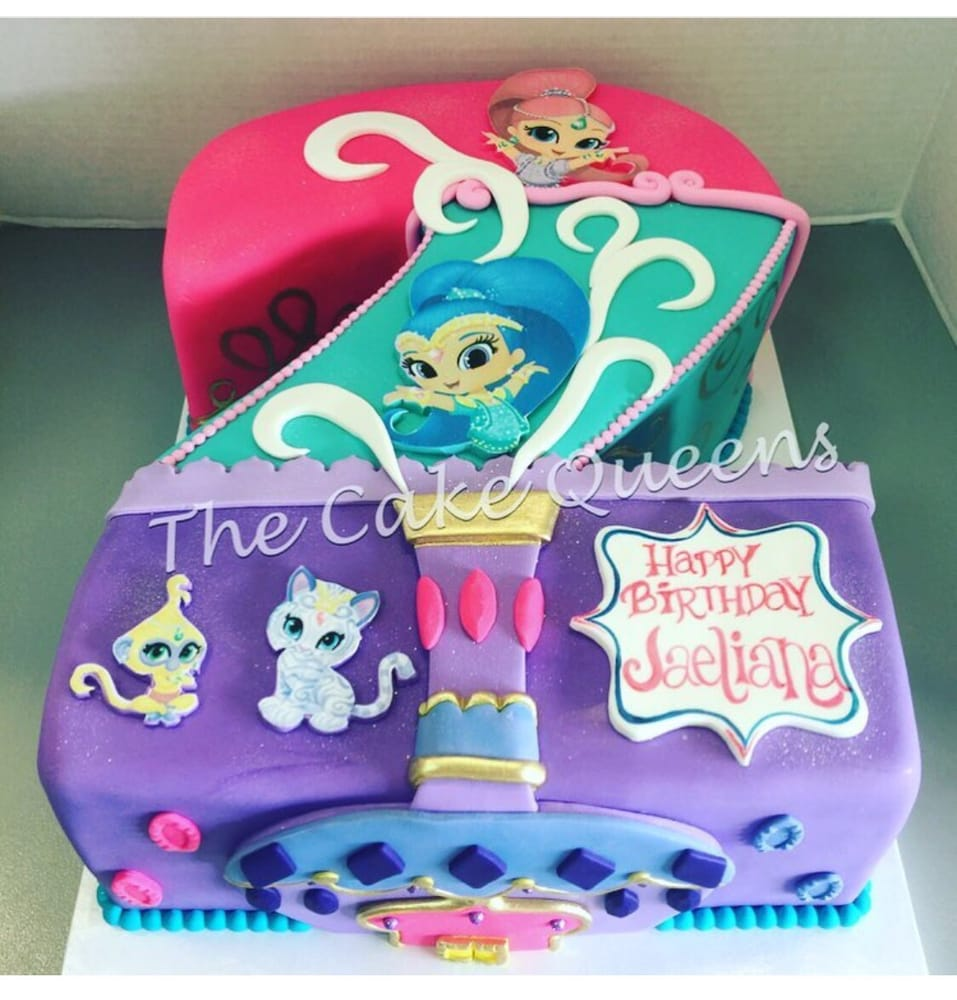 Shimmer And Shine Cakes Related Keywords amp Suggestions