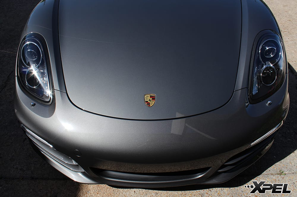 Porsche Boxster with XPEL clear bra | Yelp