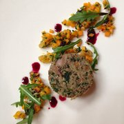 Duck Rillette starter at Ubiquitous chip