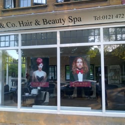 Sas and co hair and beauty spa hairdressers birmingham for Hair salon birmingham