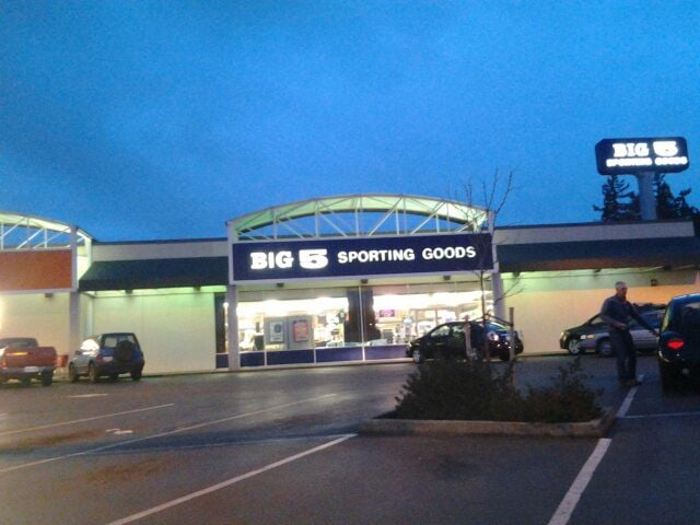Big 5 Sporting Goods offers the best deals on apparel, shoes, gear and equipment for the whole family, with products covering fitness, sports, camping, hunting and fishing. Brands you can find at Big 5 include Nike, Under Armour, Adidas, Coleman, Winchester and more.
