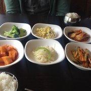Garden Korean Cuisine - Best banchan in town - Federal Way, WA, Vereinigte Staaten