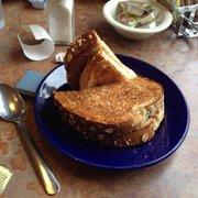 Wild Goats Cafe - Kent, OH, États-Unis. The wheat toast taste homemade.