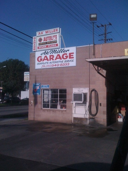 Pico Rivera (CA) United States  city pictures gallery : Ak Miller Garage Pico Rivera, CA, United States
