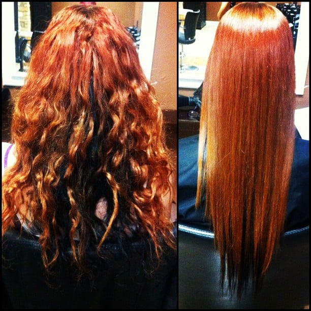 Japanese Straightening Before And After Japanese Straightening by