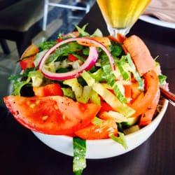 The Fattoush salad.