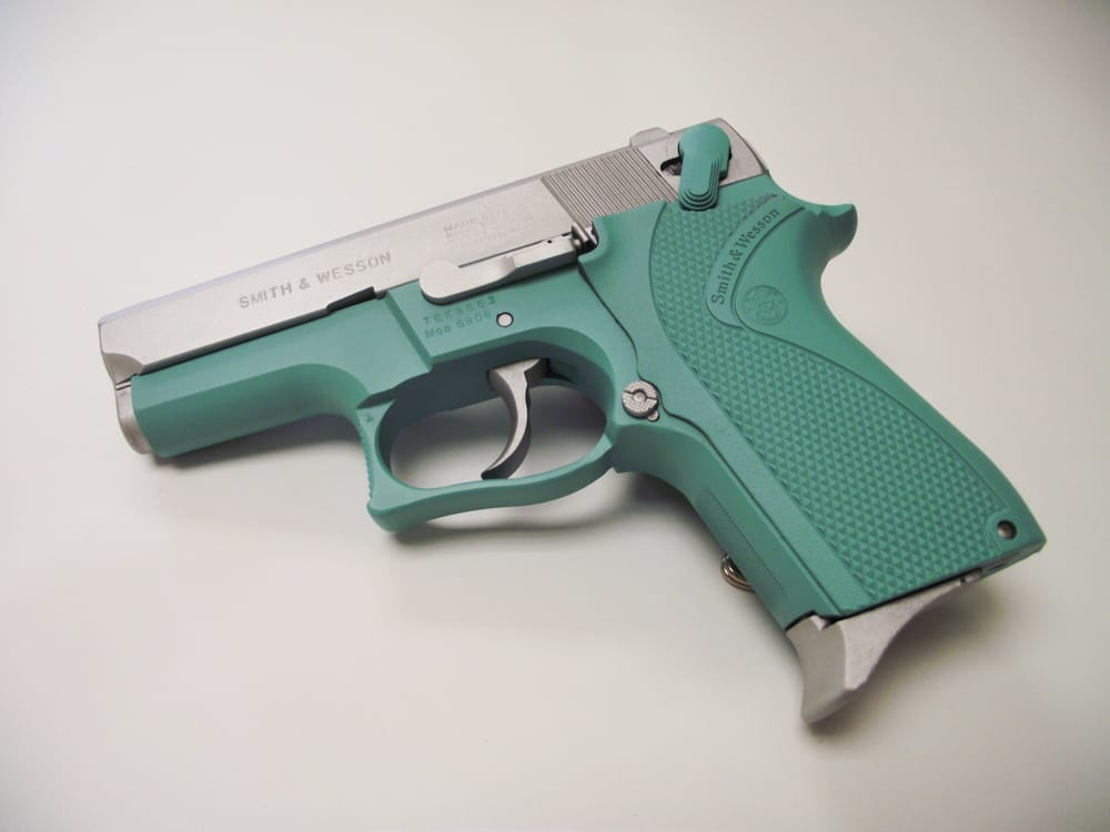Blue Handgun Photos for Havoc Customs