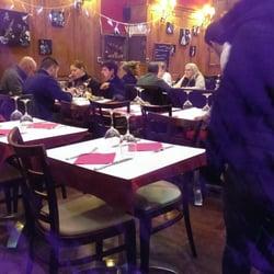 Brasserie Elite - Lyon, France. La salle