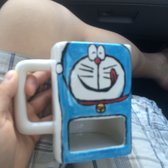 The Hot Spot Candle Making Pottery Painting & More - San Diego, CA, United States. Other doraemon piece :D