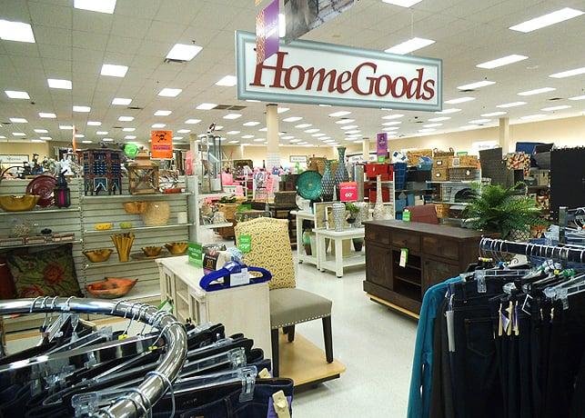 inside marshalls home goods yelp
