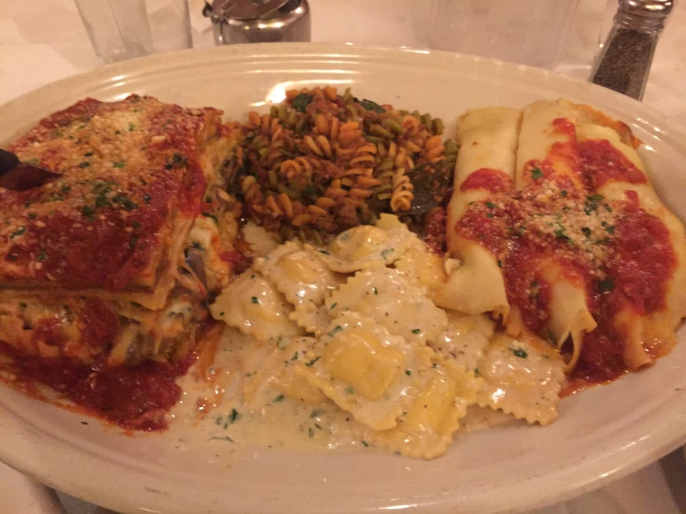 Four pasta special on sunday in carmine 39 s yelp for Carmines nyc