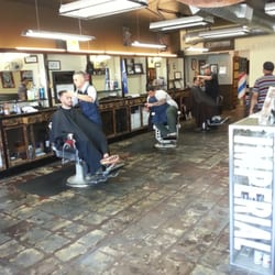 Barber Shop In Long Beach : Razorbacks Barber Shop - Waking in to a full shop cause these guys are ...