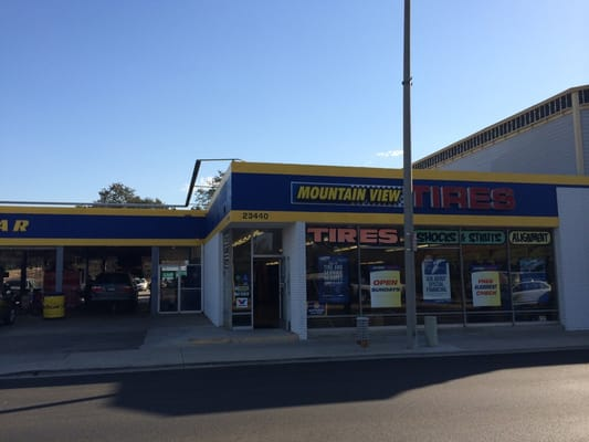 Mountain View Tire Auto Service Newhall Ca United